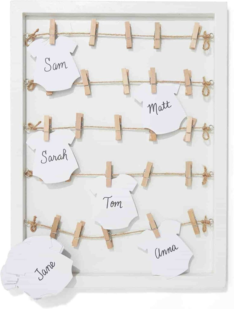 Baby Shower Signature Guest Book
