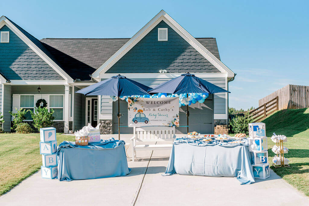 drive by baby shower theme idea