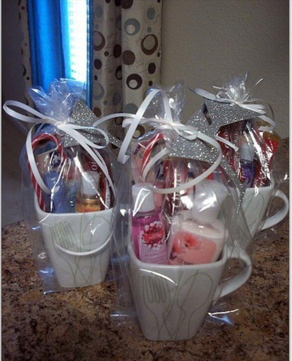treats and mugs baby shower gift bags