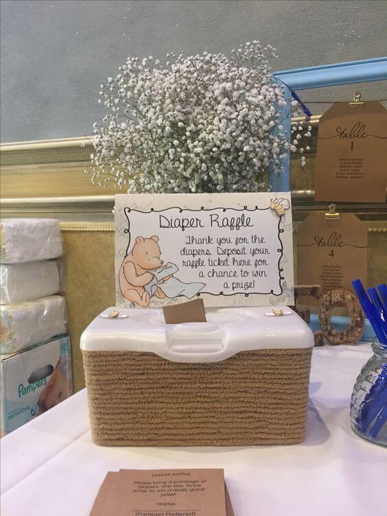 baby shower diaper raffle ideas