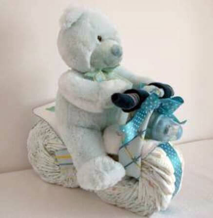 Diaper Tricycle Cake