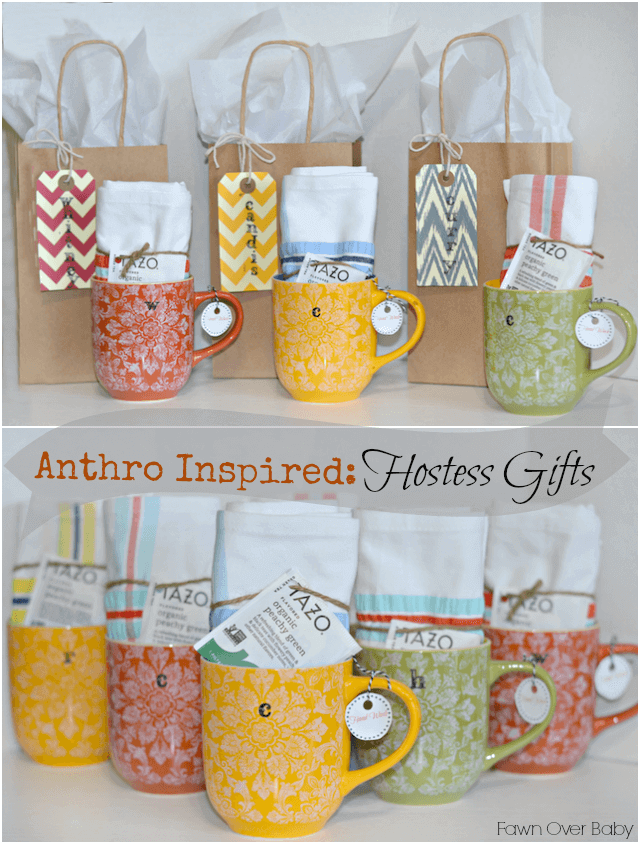 baby shower thank you gifts for hostess ideas