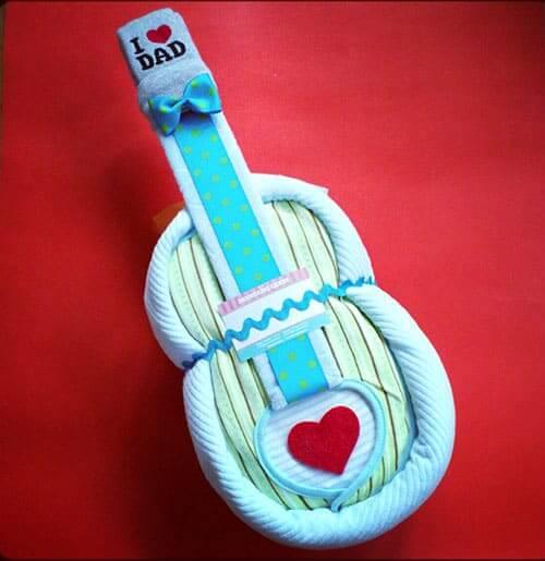 A Diaper Guitar