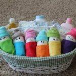 How to make mini diaper babies