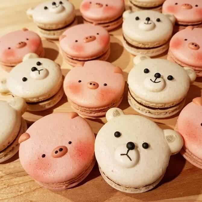 Teddy Bear Themed Baby Shower cookies
