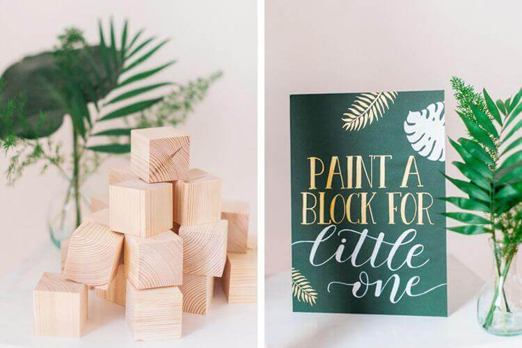 Woodland themed Baby Shower Games