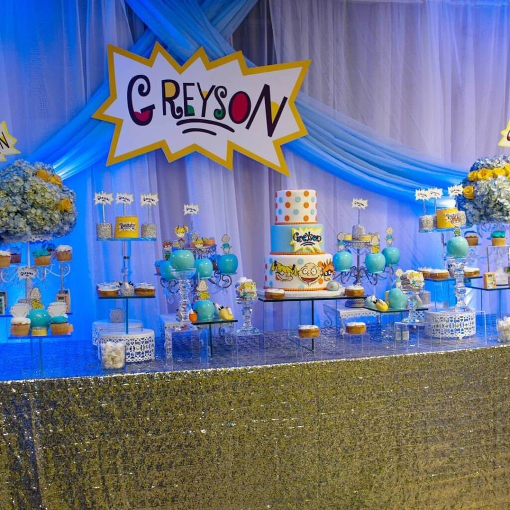 Rugrats baby shower for boy