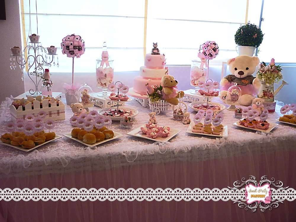 Teddy Bear Baby Shower Themes For Girls