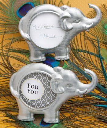 Elephant Themed Baby Shower Favors
