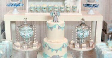 Modern baby shower themes ideas
