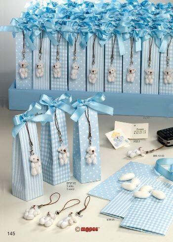 Teddy bear themed baby shower favors