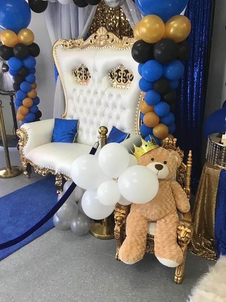Teddy Bear Baby Shower Themes For Boys