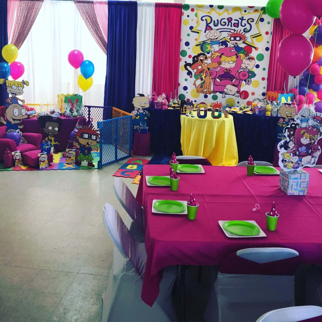 Rugrats baby shower for girl