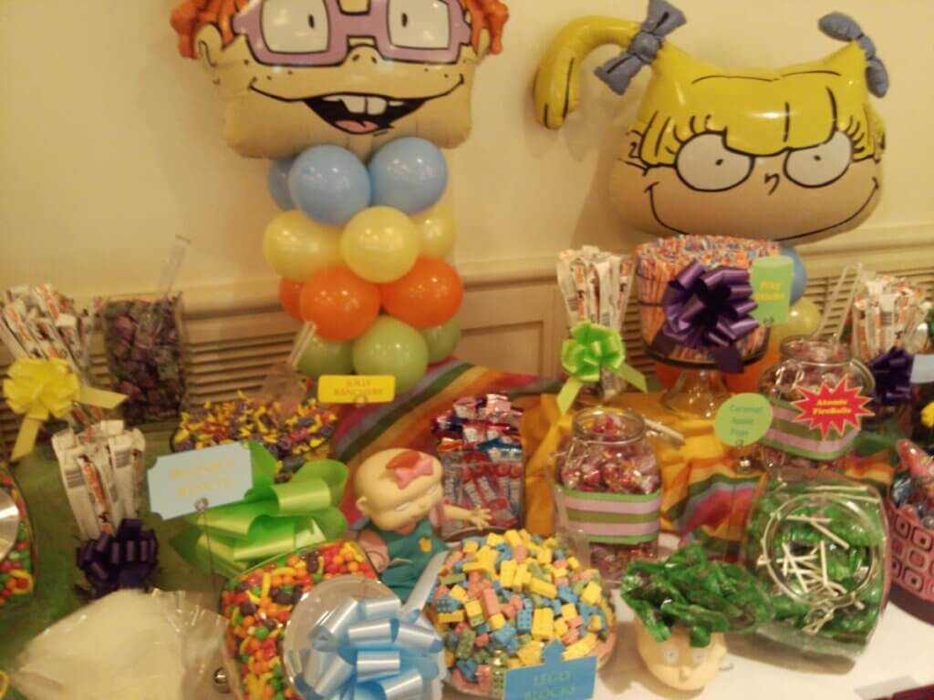 Rugrats baby shower theme