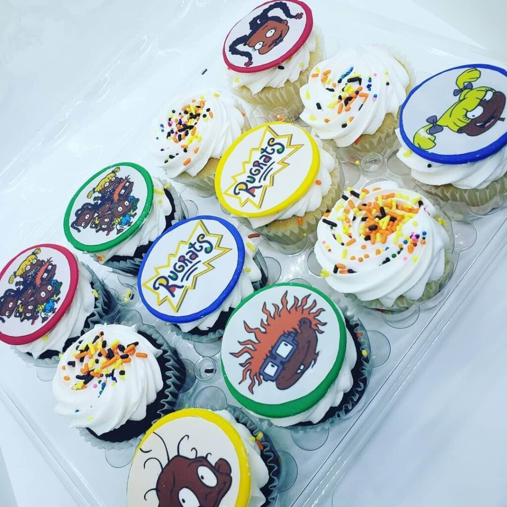 Rugrats baby shower food ideas