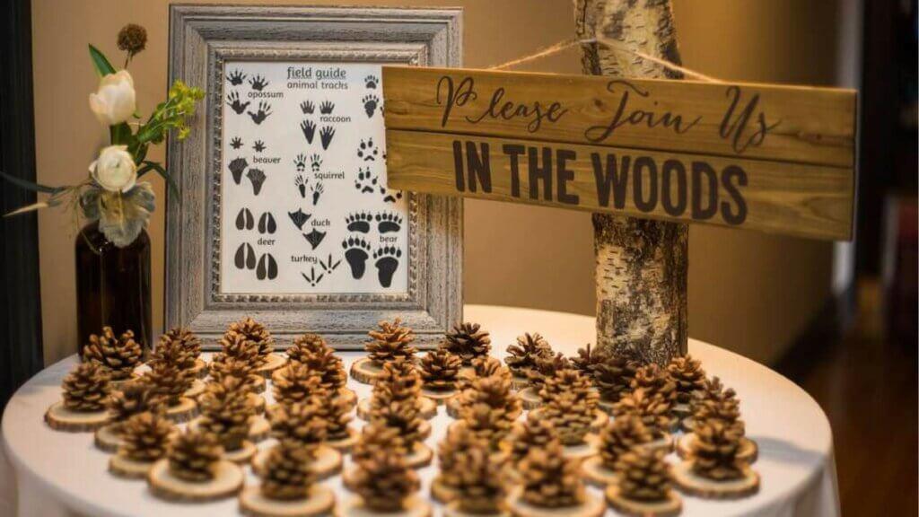 Woodland baby shower theme ideas