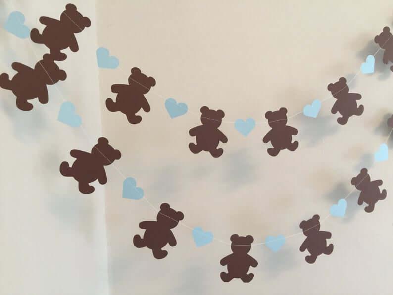 Teddy Bear Baby Shower Decor