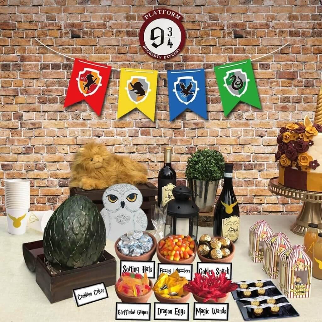Harry Potter baby shower ideas