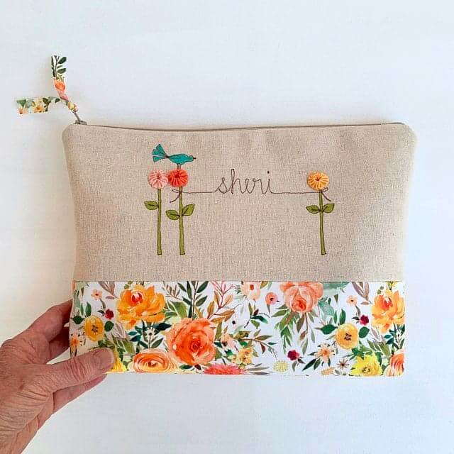 Baby shower hostess Gifts Personalized Clutch Purse