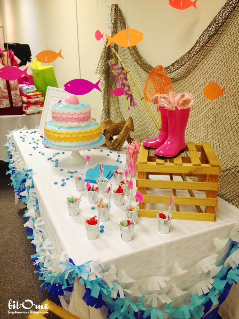 Fishing Themed Baby Shower Ideas