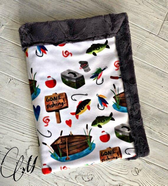 Fishing themed baby gifts