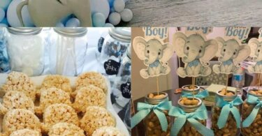 Unique Elephant baby shower Ideas (Free Printable included)