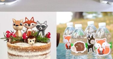 Unique woodland Themed Baby Shower Ideas with Free Printable included