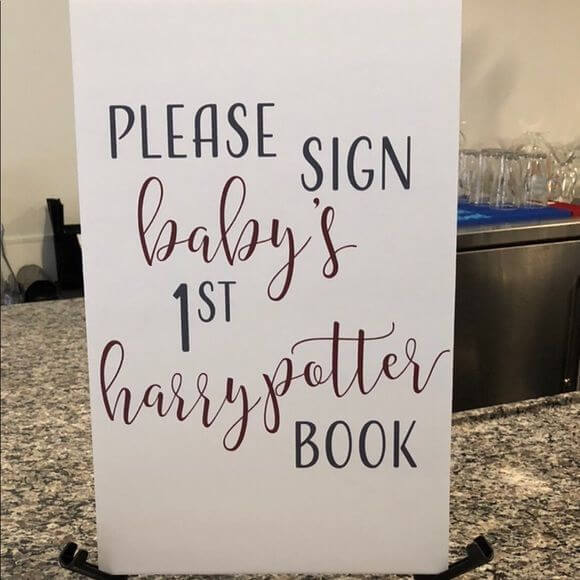 Harry Potter baby shower games