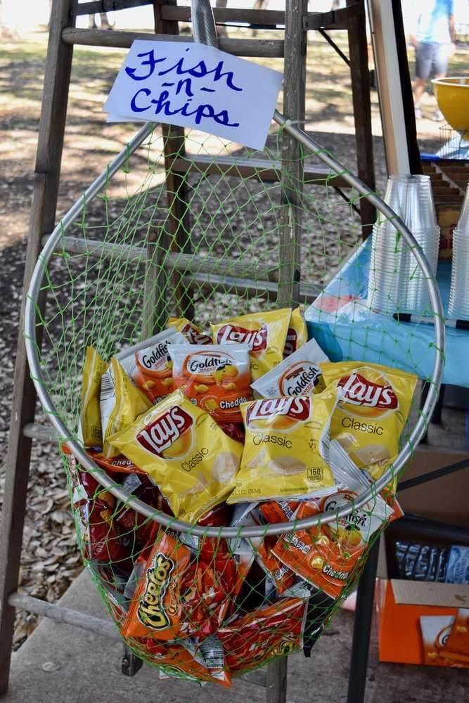 Fishing baby shower food ideas