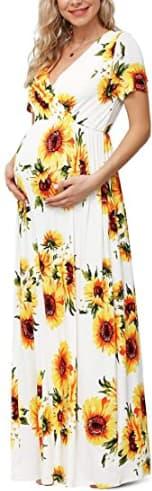 baby shower mom dress ideas 4