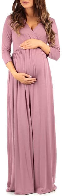 baby shower mom dress ideas 7