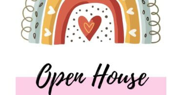 Open House Baby Shower