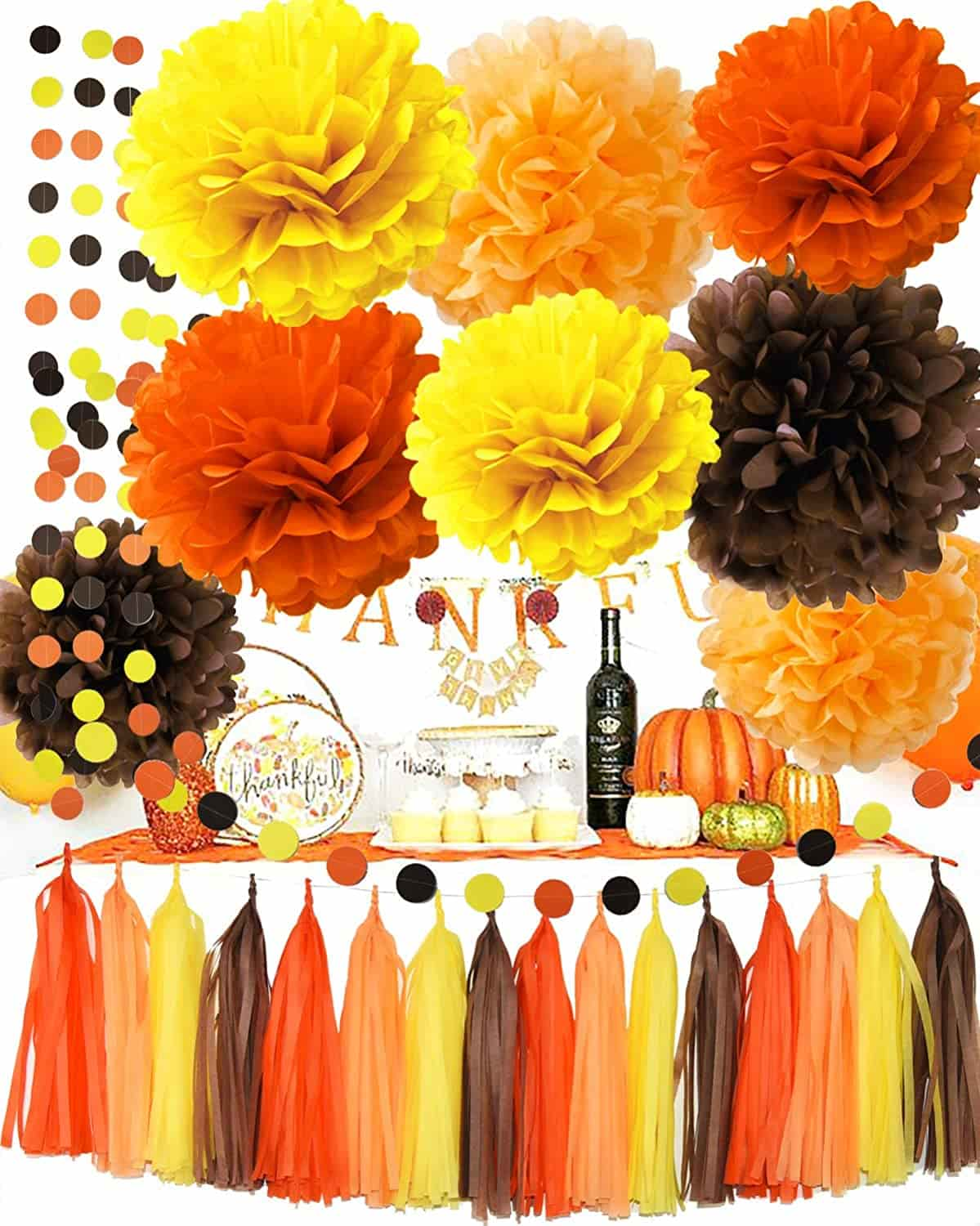 fall theme baby shower decoration ideas