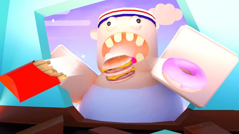 Realistic Roblox Games eating simulator